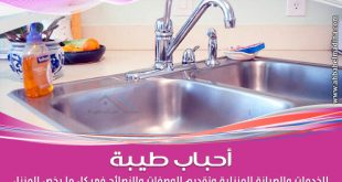 اسهل طريقة لـ تنظيف حوض المطبخ الستانلس ستيل وحوض المطبخ الرخام