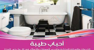 مجموعة نصائح في تنظيف الحمام